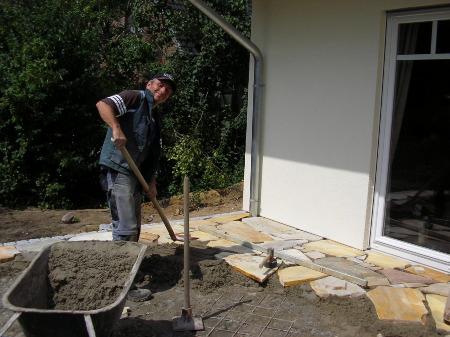 dz garten & landschaftsbau/hausservice, Garten und Bauen
